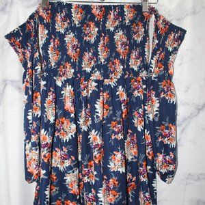 Altar'd State Floral Off the Shoulder Dress